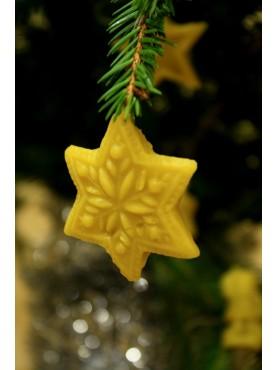 Kalėdų eglutės žaisliukas - Snaigė
