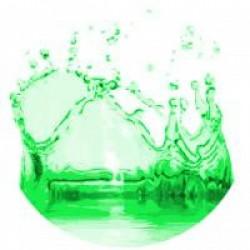 Žali dažai muilui (5 ml)
