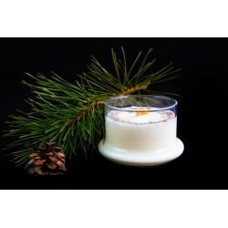 """Sojų vaško žvakė """"Miško tyla"""""""