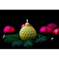 """Žvakė """"Kalėdinis burbulas"""""""