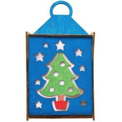 """Kalėdinis žibintas """"Eglutė"""""""