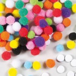Maži minkšti burbuliukai