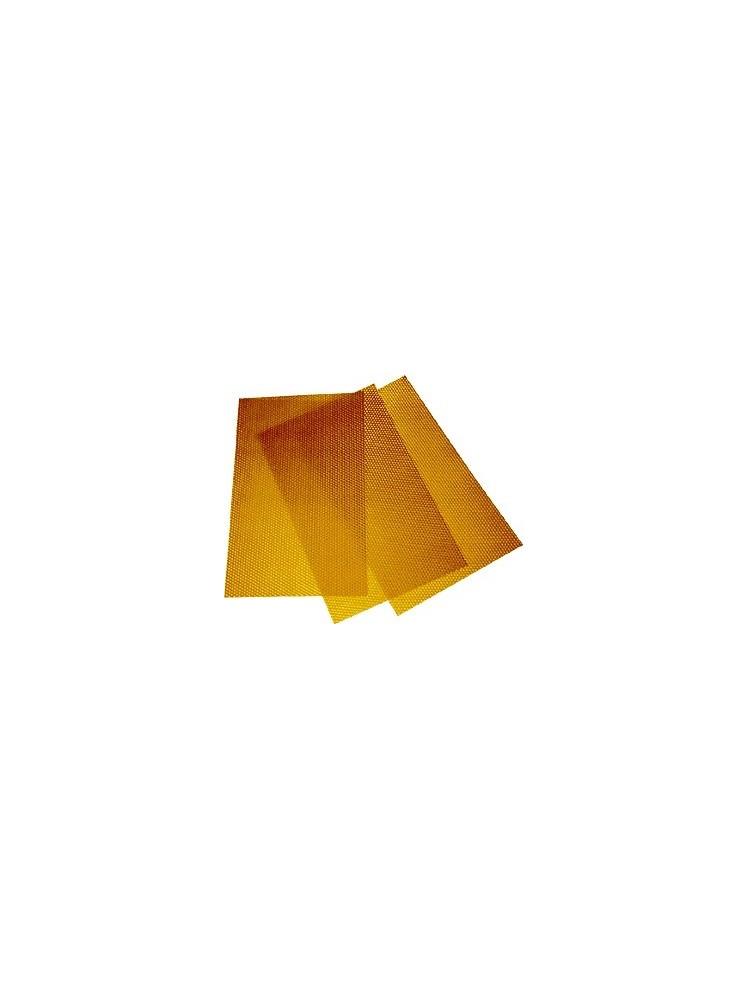 4 bičių vaško plokštelės (260x410 mm)