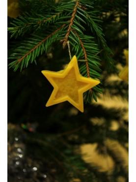 Kalėdų eglutės žaisliukas - Žvaigždė