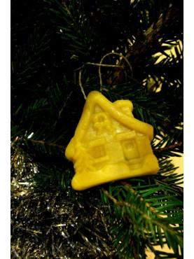 Kalėdų eglutės žaisliukas - Namukas