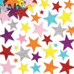 Lipnios spalvotos žvaigždutės