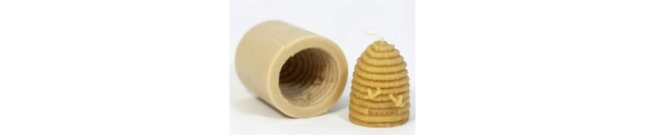 silikoninė forma žvakei